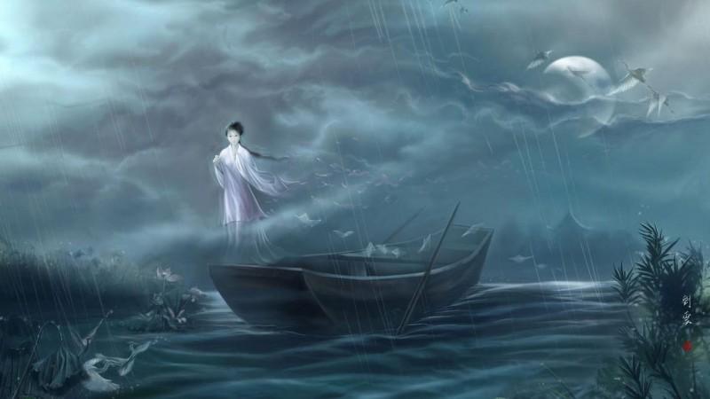 Хавирган сар (өгүүллэг) - Лао Шө