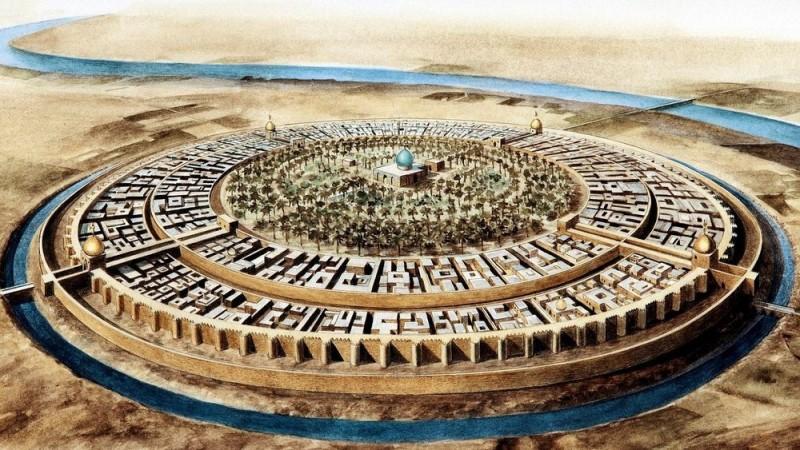 Хотын түүх: Багдадын Дугуй хот