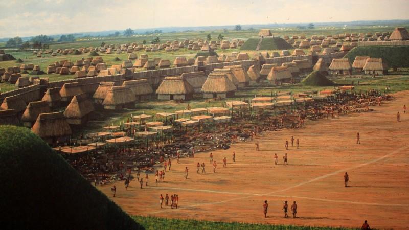 Хотын түүх: Кахокия