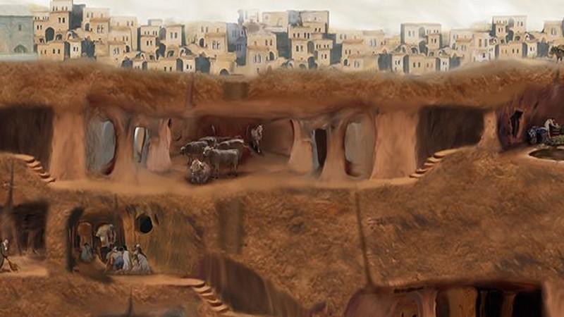 Деринкую – газар доорхи хот