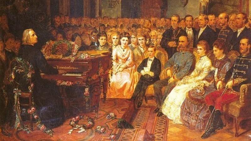 Ференц Лист – Хөгжмийн ертөнцийн анхны од