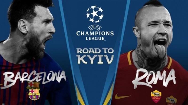 АВАРГУУДЫН ЛИГ: Барселона VS Рома