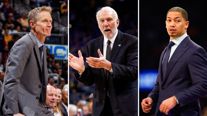 NBA: Плэй-оффт хамгийн амжилттай 10 дасгалжуулагч (хувиар)
