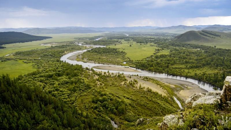 Монголын үзэсгэлэнт газрууд - Онон Балжийн байгалийн цогцолборт газар