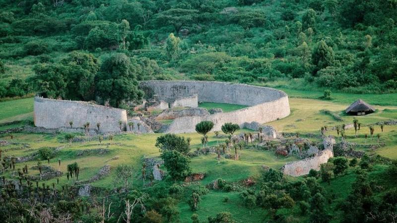 Хотын түүх: Их Зимбабве