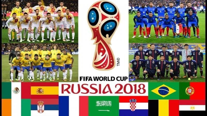 2018 хөл бөмбөг баг тамирчид зурган илэрцүүд