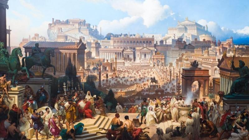 Хотын түүх: Эртний Ром