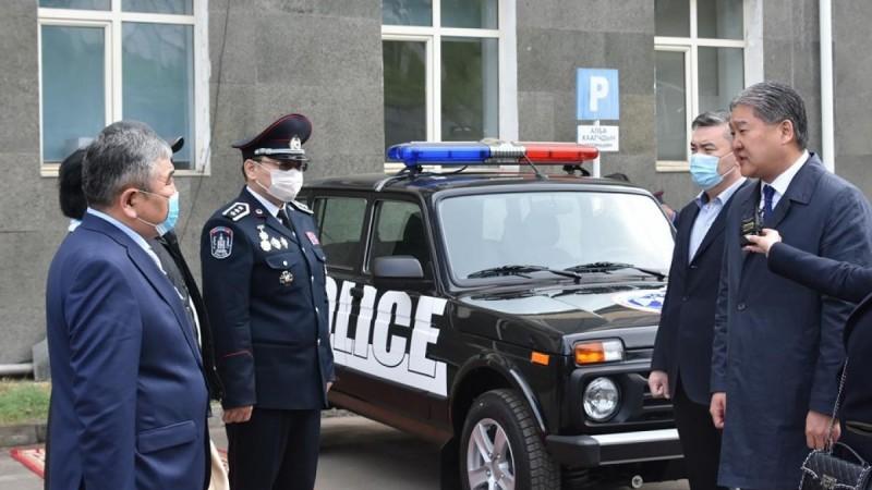 Жаргалант тосгоны Цагдаагийн тасагт бүрэн тоноглолтой авто машин гардууллаа