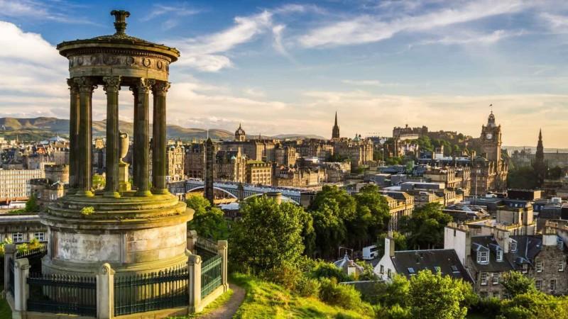 Хотын түүх: Эдинбург