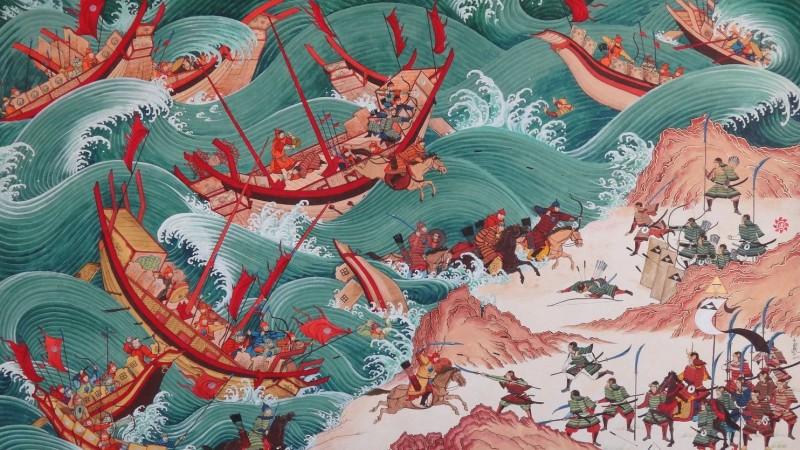 Монголчуудын Япон руу хийсэн анхны довтолгоо