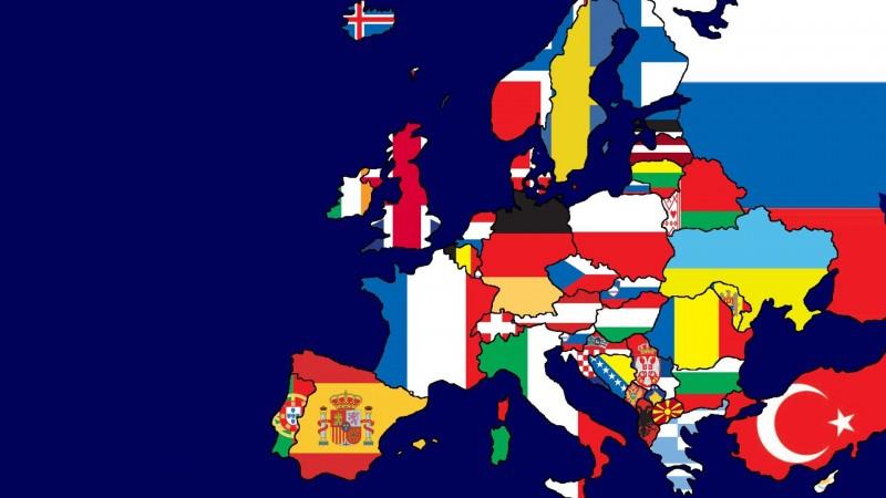 Европын улс орны нэршлийн үүсэл гарал