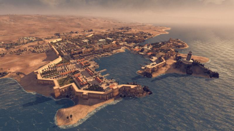 Хотын түүх: Александрия
